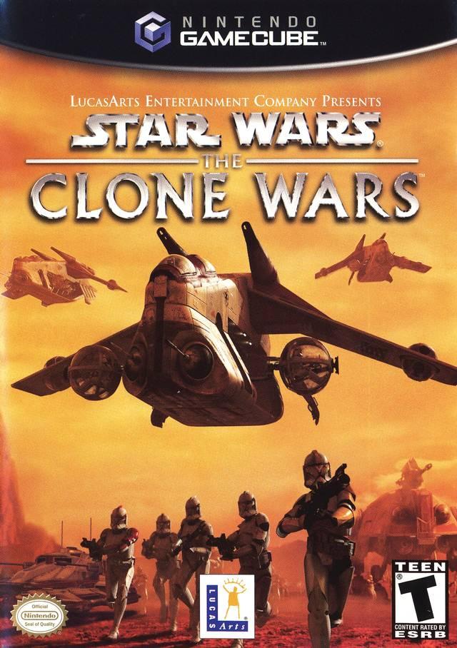 Rom juego Star Wars The Clone Wars