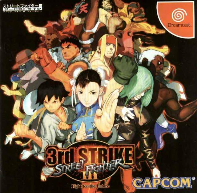 Rom juego Street Fighter III 3rd Strike Fight For The Future