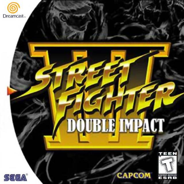 Rom juego Street Fighter III Double Impact