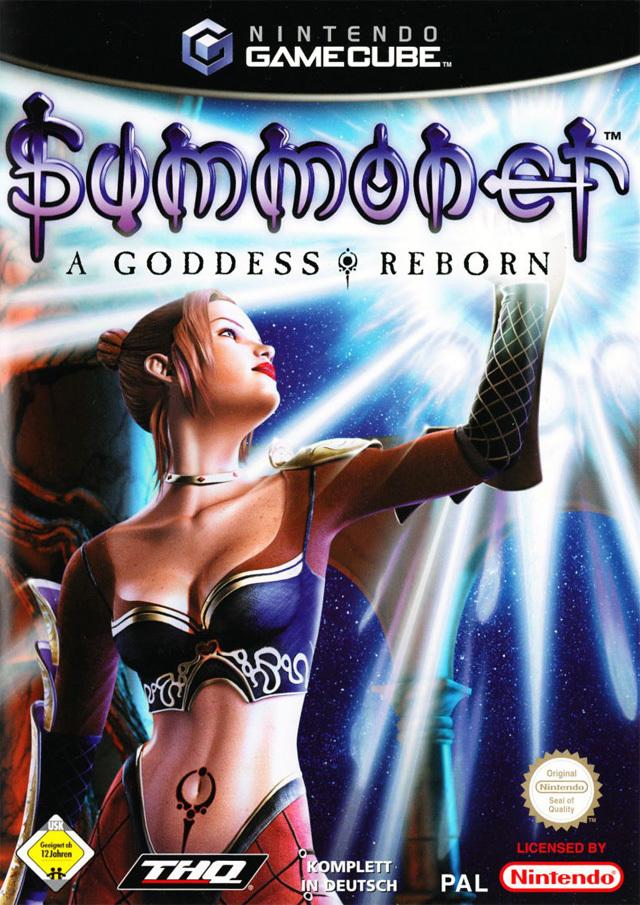 Rom juego Summoner A Goddess Reborn