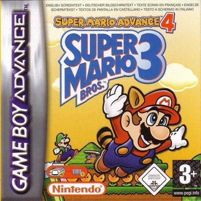 Rom juego Super Mario Advance 4 - Super Mario Bros 3