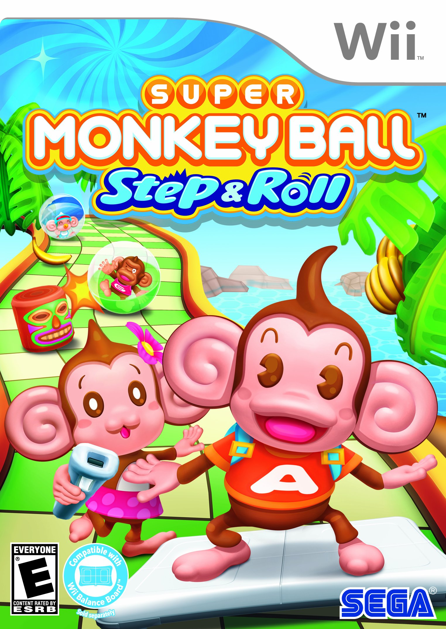 Rom juego Super Monkey Ball- Step & Roll