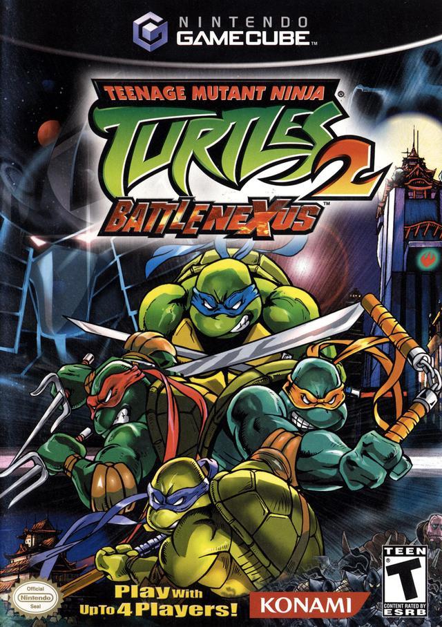 Rom juego Teenage Mutant Ninja Turtles 2 Battle Nexus  - Disc #2