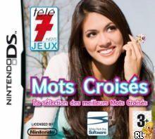 Rom juego Tele 7 Jeux - Mots Croises