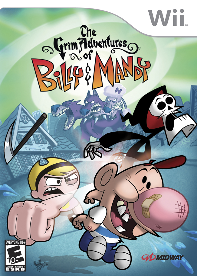 Rom juego The Grim Adventures Of Billy & Mandy