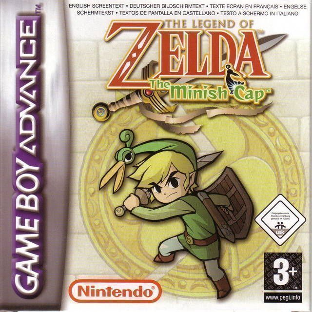 Rom juego The Legend Of Zelda - The Minish Cap
