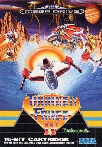 Rom juego Thunder Force IV