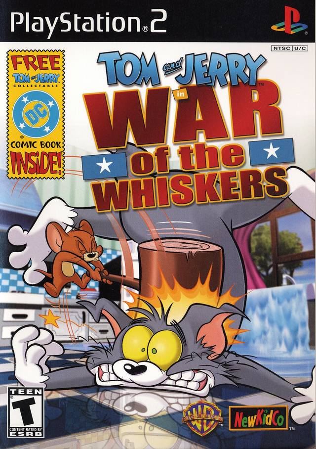 Rom juego Tom And Jerry In War Of The Whiskers