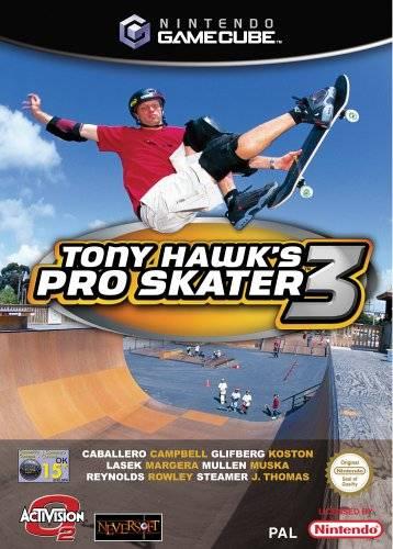 Rom juego Tony Hawk's Pro Skater 3