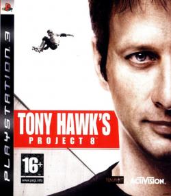 Rom juego Tony Hawk's Project 8