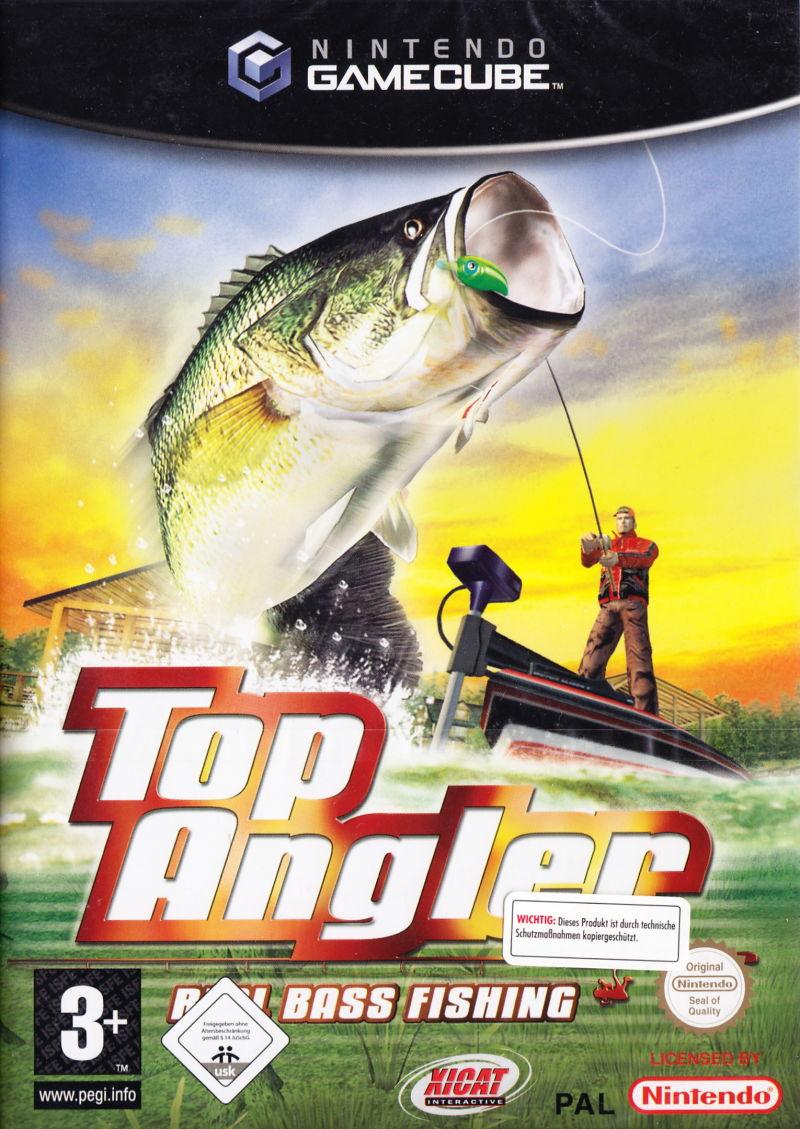 Rom juego Top Angler Real Bass Fishing