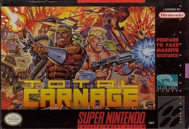 Rom juego Total Carnage [a1]