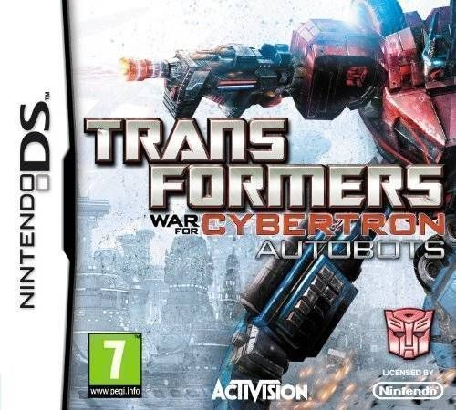 Rom juego Transformers War For Cybertron - Autobots