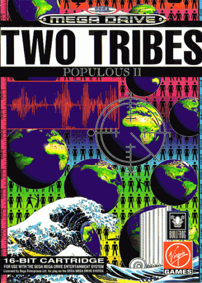 Rom juego Populous 2 - Two Tribes
