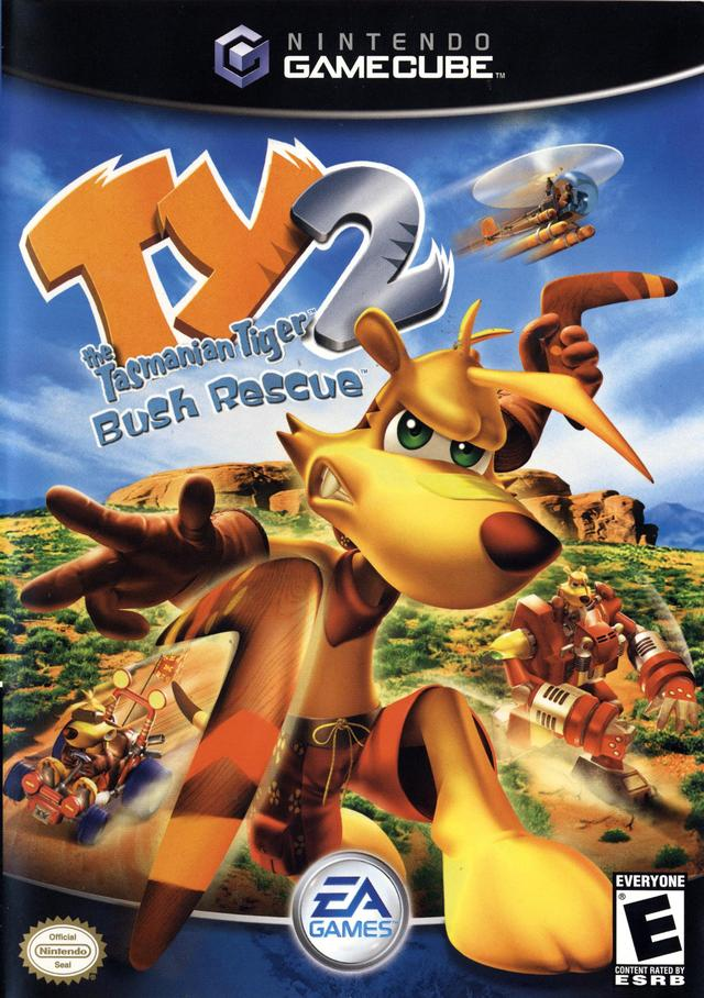 Rom juego TY The Tasmanian Tiger 2 Bush Rescue