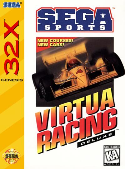 Rom juego Virtua Racing Deluxe 32X