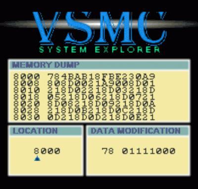Rom juego VSMC System Explorer