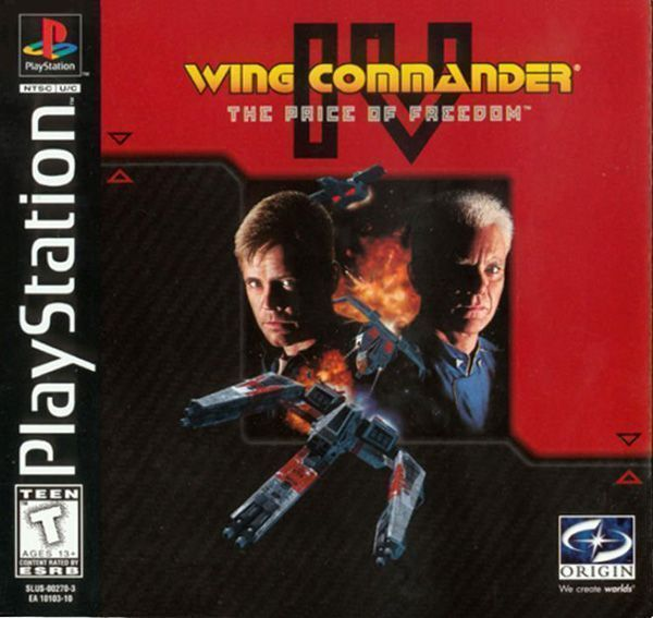 Rom juego Wing Commander IV The Price Of Freedom DISC1OF4