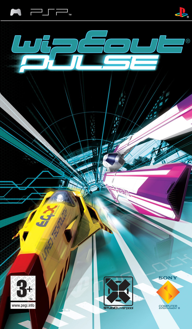 Rom juego WipEout Pulse