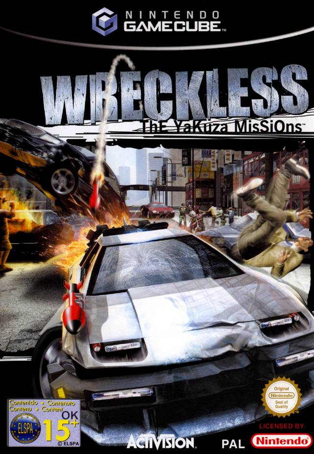 Rom juego Wreckless The Yakuza Missions