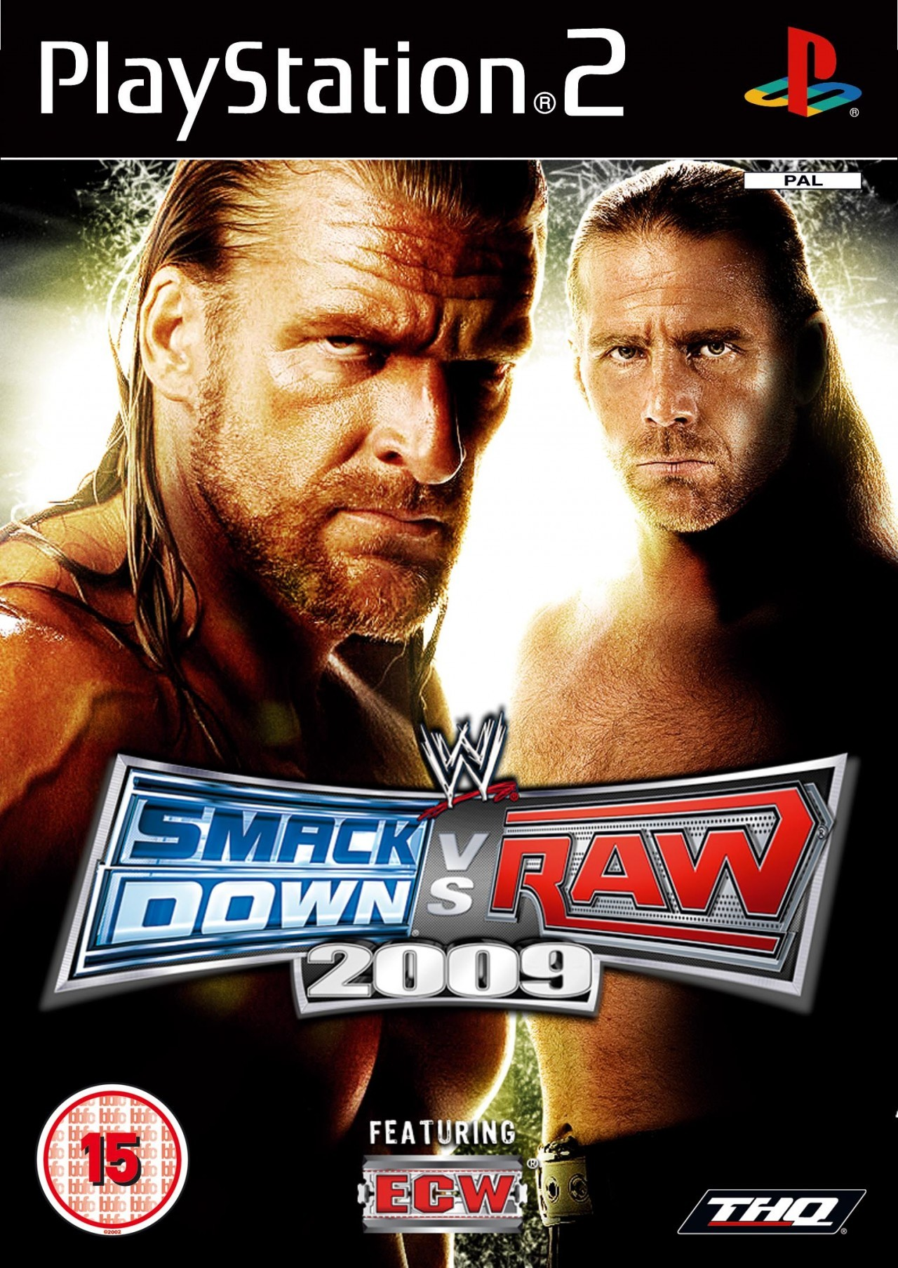 Rom juego WWE SmackDown Vs. RAW 2009 Featuring ECW