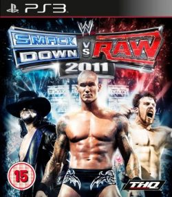 Rom juego WWE Smackdown vs Raw 2011
