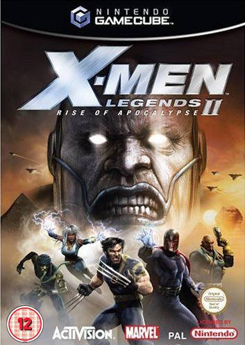 Rom juego X Men Legends II Rise Of Apocalypse