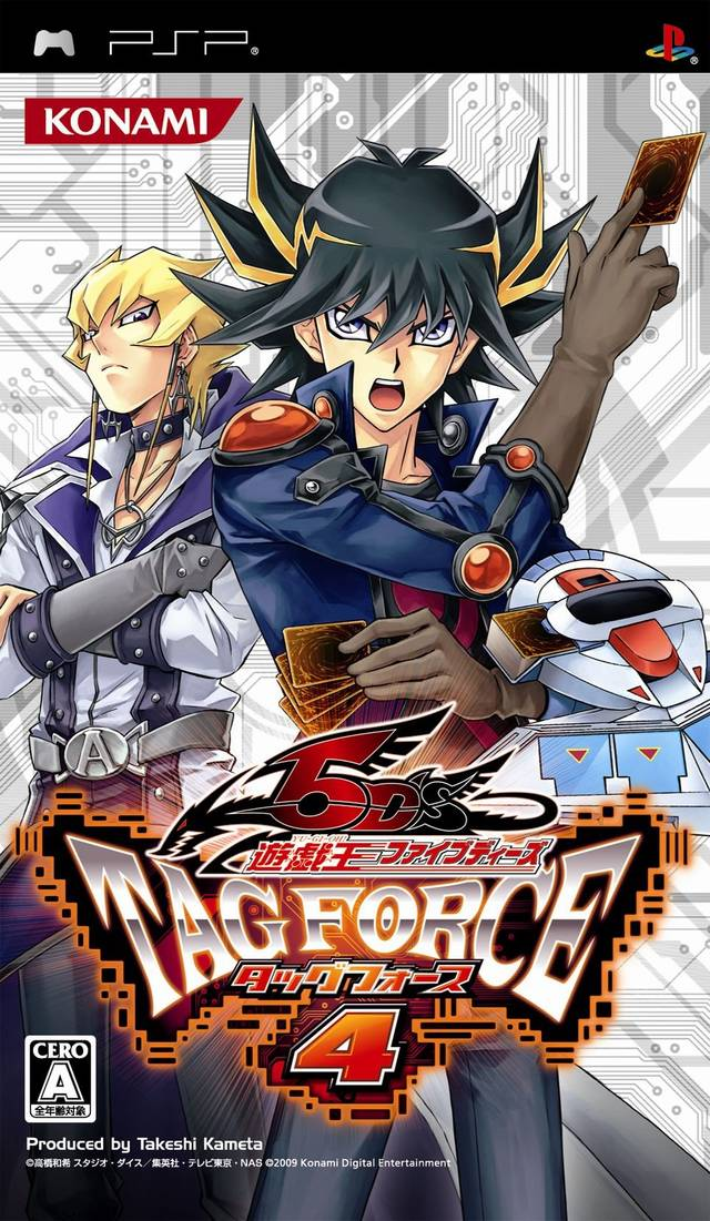 Rom juego Yu-Gi-Oh 5D's - Tag Force 4